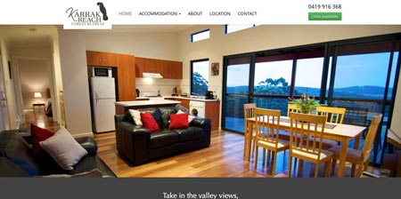 Image showing Karrak Reach home page