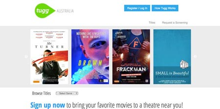 Image showing Tugg Australia home page